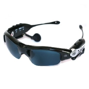 Spy Cam Sunglasses 1GB MP3/Video/Audio - Hidden Camera