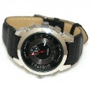 4GB HD Spy Watch With Leather Strap